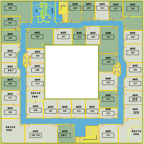 Second Floor Layout - The Atrium Office Suites